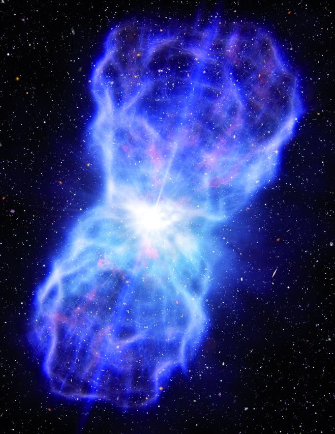 Quasare – mehr Energie geht nicht