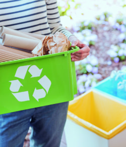 Umweltschutz kann jede/r — Recyclingpapier